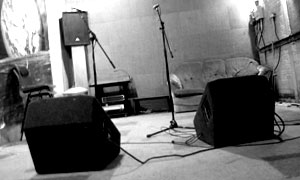 The Rooms Rehearsal Studios, band music practice venue, backline hire and storage for Hampshire, Berkshire and Surrey